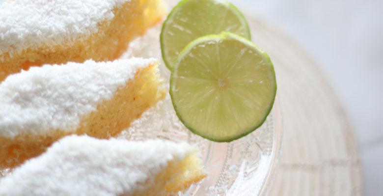 Grießkuchen mit Limette