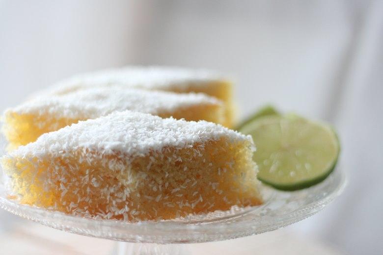 Grieskuchen mit Limette